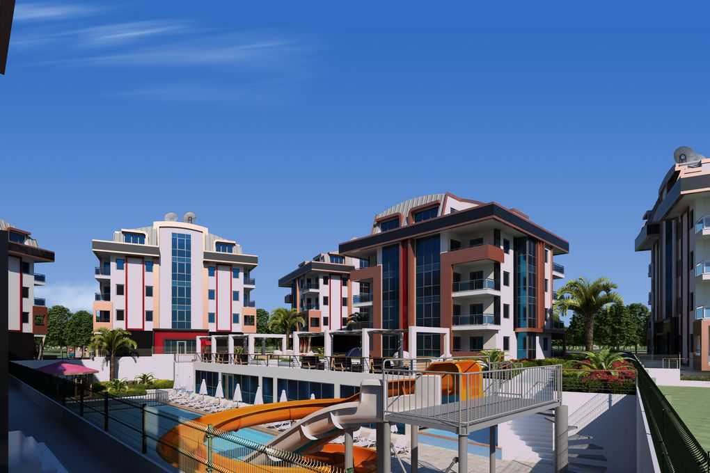 Modern Apartments In Centre Of Alanya