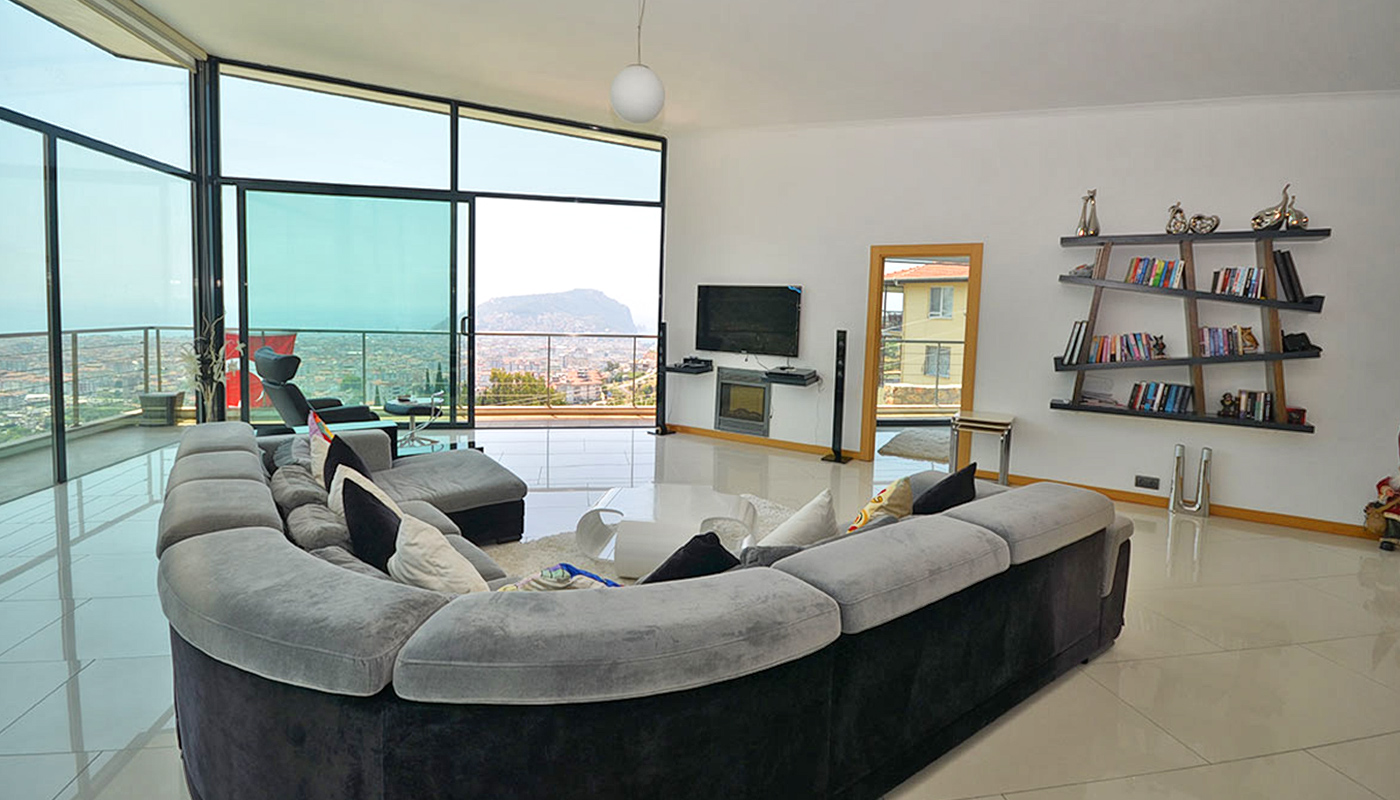 Villa In Alanya With High End Construction And Interiors