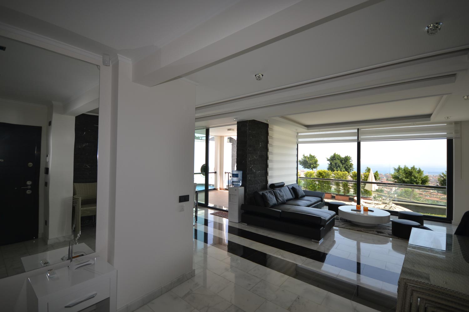 Modern Apartments With Panoramic Sea View